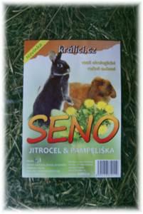 Seno kralici.cz zahradní  otava