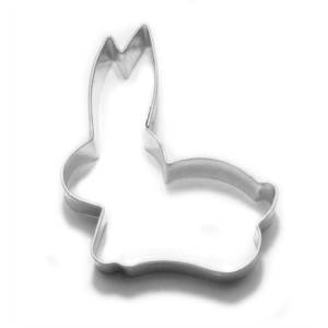 Vykrajovátko králík ležící