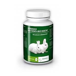 Roboran H pro králíky černé a bílé
