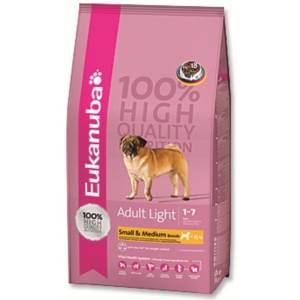 Eukanuba Adult Small & Medium Light / Weight Control 15 kg