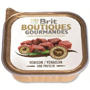 Brit Boutiques Gourmandes Venison Small Breed One Meat