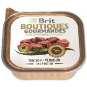 Brit Wet / Brit Boutiques Gourmandes Venison Small Breed One Meat