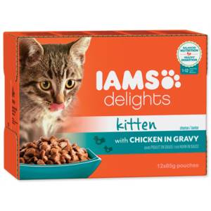 Kapsička Cat Kitten delights chicken in gravy 1020 g