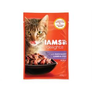 Kapsička Cat delights lamb & liver in jelly