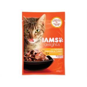 Kapsička Cat delights chicken & turken in gravy