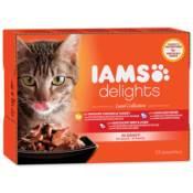 IAMS / Kapsičky výběr ze suchozemských mas v omáčce