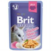 Brit / Brit Premium kapsička Cat Delicate Fillets in Jelly with Chicken