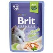 Brit / Brit Premium kapsička Cat Delicate Fillets in Jelly with Trout