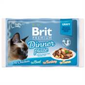 Brit / Brit Premium kapsičky Cat Delicate Fillets in Gravy Dinner Plate