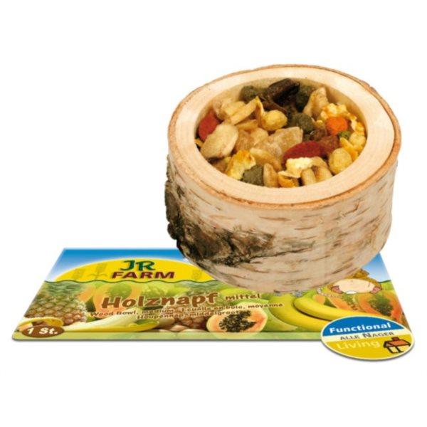 JR Dřevěná miska snáplní střední, ovoce