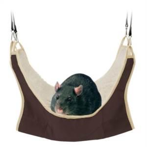 Hamaka pro potkany a větší hlodavce