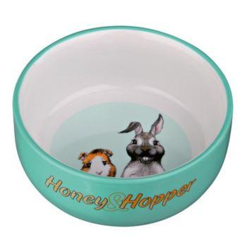 Trixie / Keramická miska Honey&Hopper