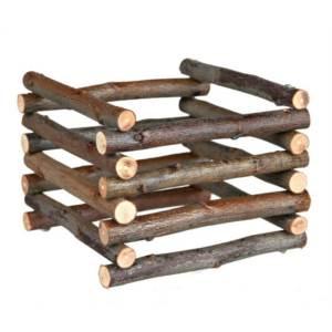 Dřevěný stojan na seno