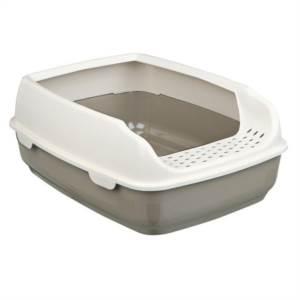 Toaleta Delio bílo - krémová