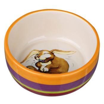 Trixie / Pruhovaná miska králík