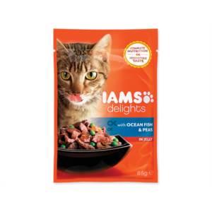 Kapsička Cat delights ocean fish & peas in jelly