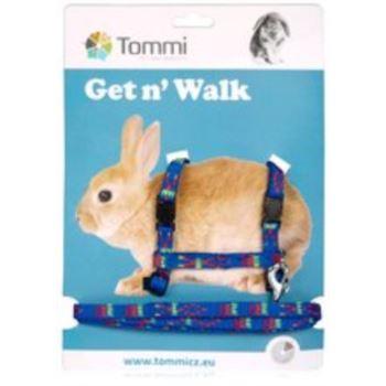 Tommi / Nylonový postroj + vodítko pro králíky