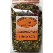 Herbal Pets / Zeleninový mix s lístky růže