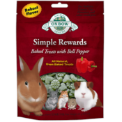 Oxbow / Simple Rewards pečené pamlsky s paprikou