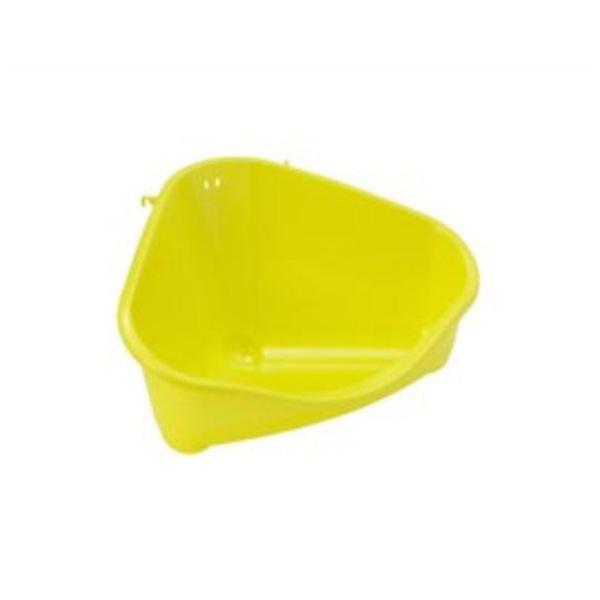 Rohová toaleta vel. L žlutá