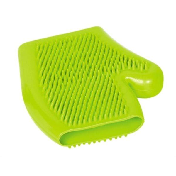 Čistící a masážní rukavice