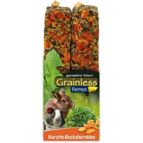 JR Grainless tyčinky mrkev, pískavice