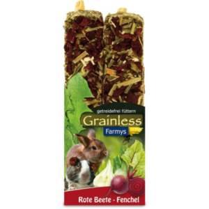 JR Grainless tyčinky červená řepa, fenykl