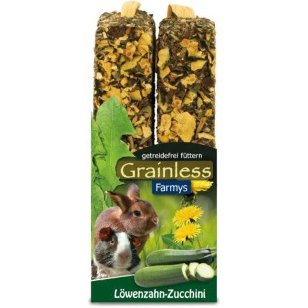 JR Grainless tyčinky pampeliška, cuketa