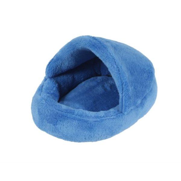 Pelíšek papuče tmavě modrá A02