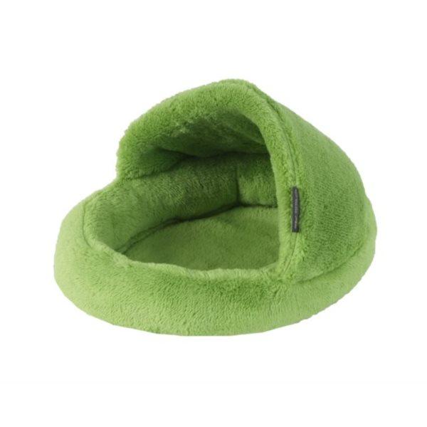 Pelíšek papuče zelená A23