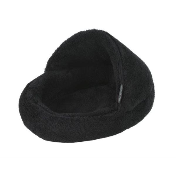 Pelíšek papuče černá A25