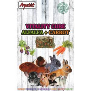 Vitality Cube, Pressed Alfalfa with Carrot