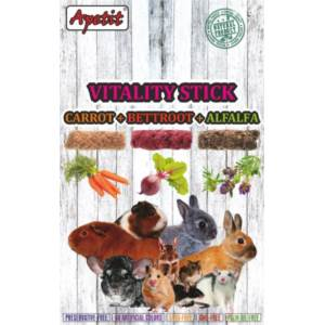 Vitality Sticks with Carrot, Beetroot and Alfalfa