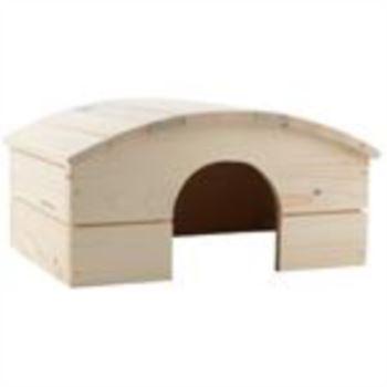 Samohýl Exclusive / Domek dřevo obloukovitá střecha