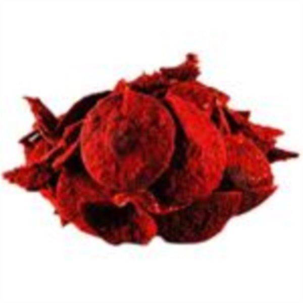 Březové čipsy s červenou řepou
