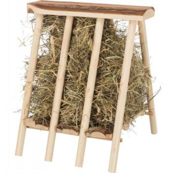 Trixie / Stojící jesličky na seno dřevěné
