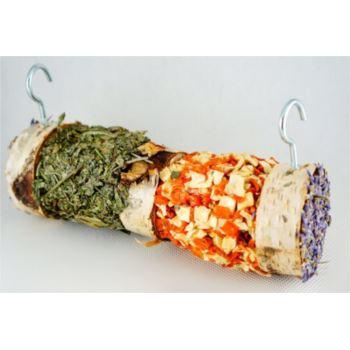HamStake / Březové krmítko s bylinkami a zeleninou