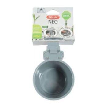 Zolux / Miska plastová NEO šedá